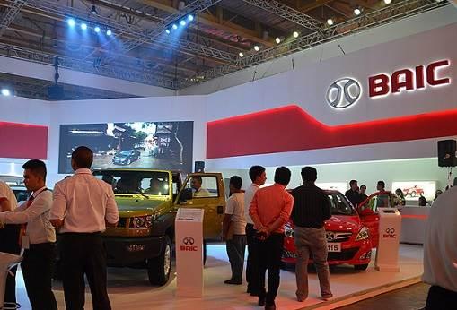 BAIC Motor el Gigante de Beijing