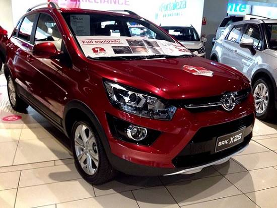 Autos chinos en México