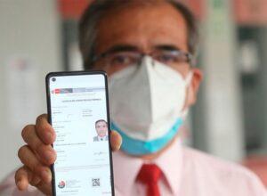 Licencia de conducir electrónica en Perú