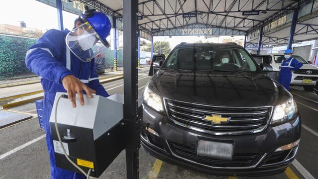 Inspección técnica vehicular en Arequipa
